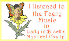 Award for listening to Faery Music.